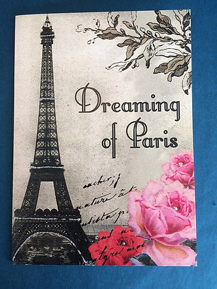 Greeting Card - Dreaming of Paris