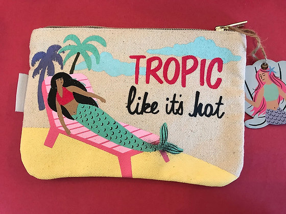 Zipper Pouch - Tropic like it's hot