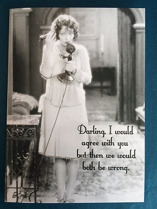 Greeting Card - Both be wrong