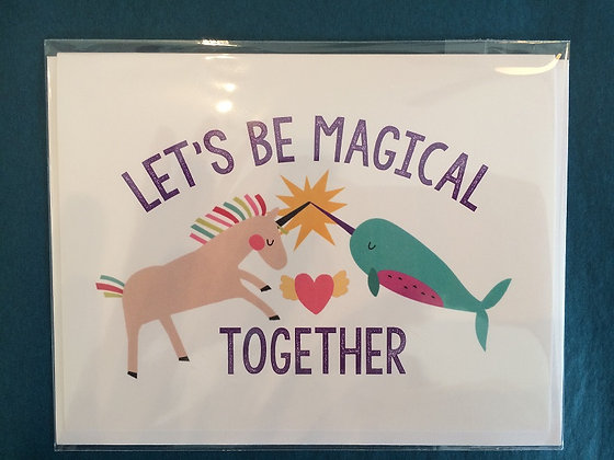 Let's Be Magical Together Card