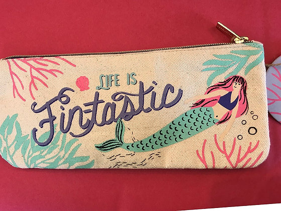Zipper Pouch - Life is Fintastic