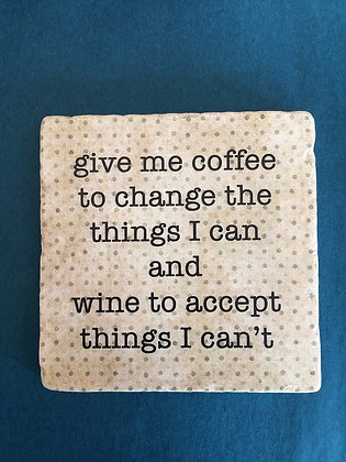 Coaster - Give me coffee...