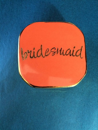 Bridesmaid Trinket Box
