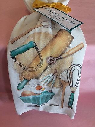 Bakers Tools - Set of 2 Tea Towels