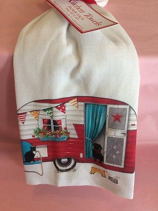 Camper - Set of 2 Tea Towels