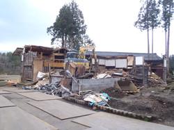 旧宅解体工事