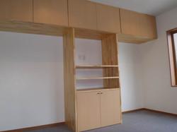 寝室造作家具