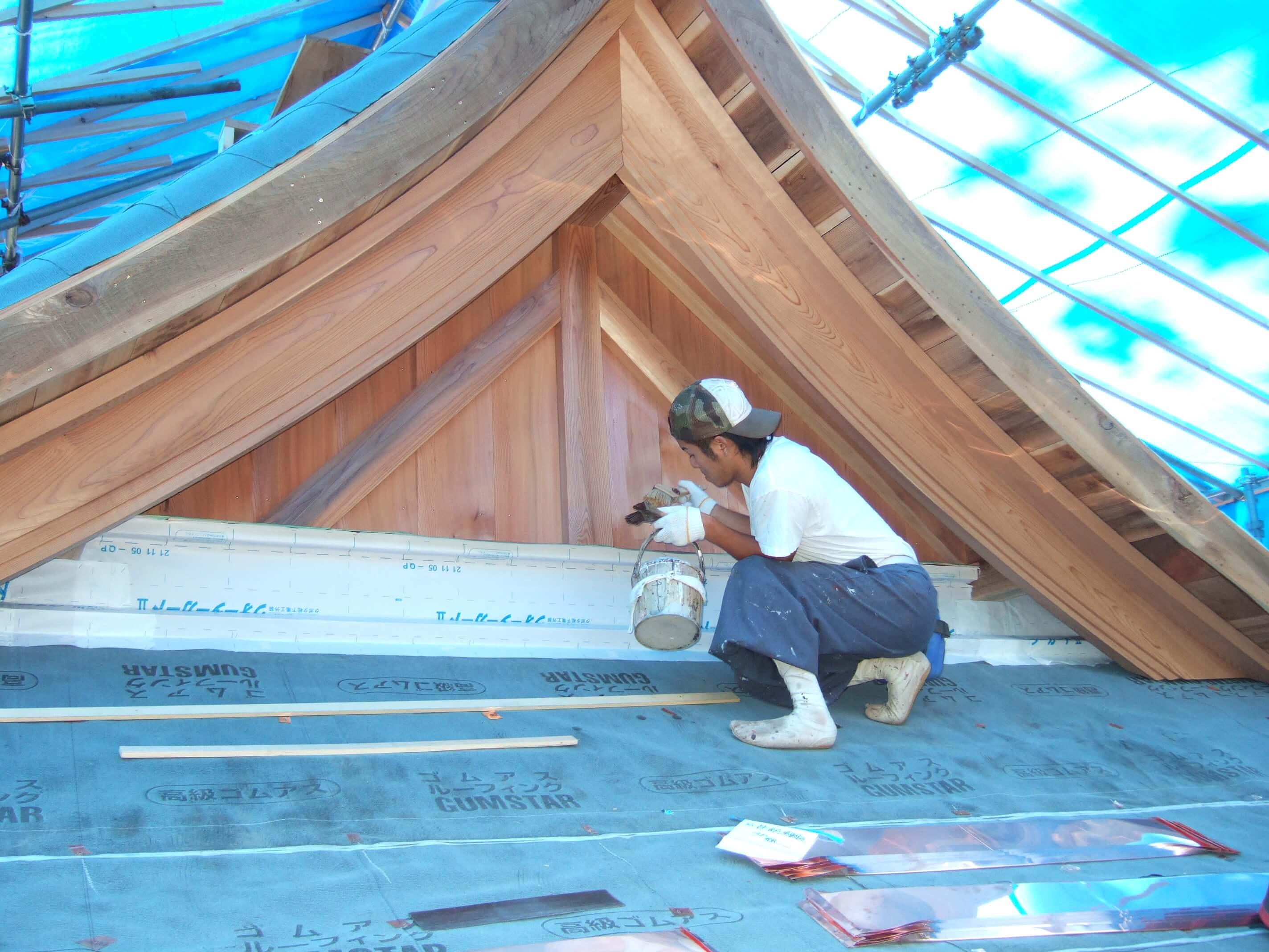 屋根葺き工事