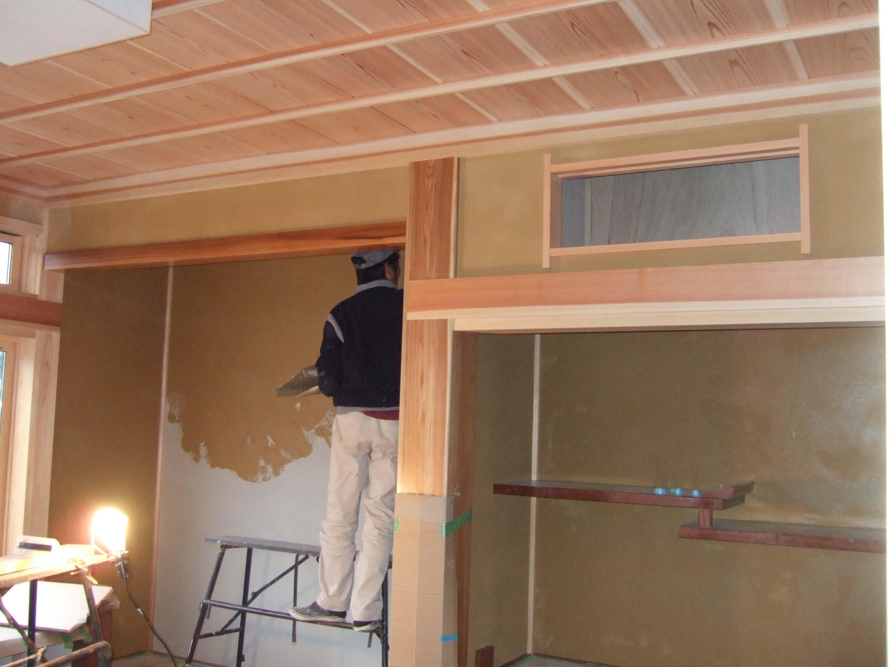 床の間 京壁仕上