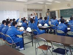 平成29年岩手県立黒沢尻工業高校土木kの皆様の現場見学会6科