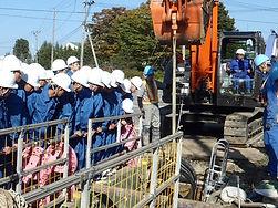 平成29年岩手県立黒沢尻工業高校土木科の皆様の現場見学会4