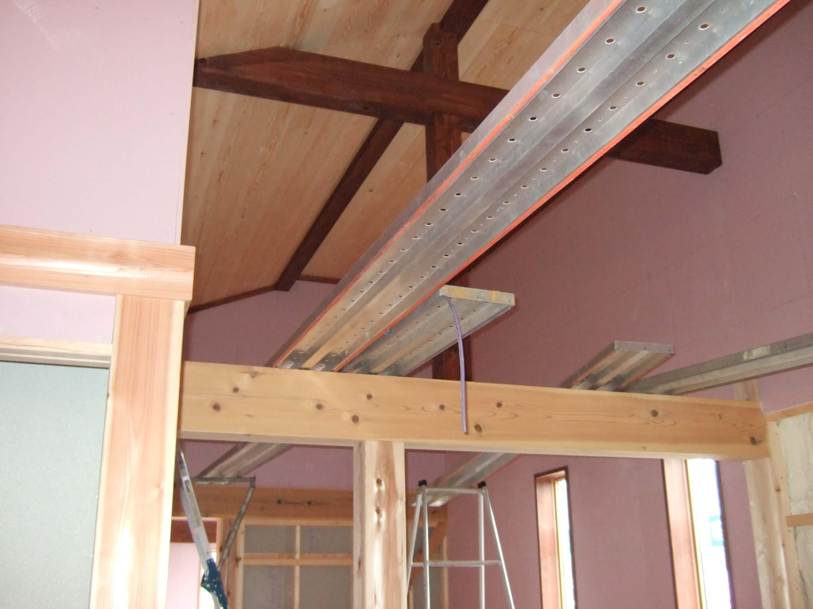 造作寝室天井