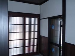 改修後の玄関