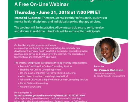 Online Webinar Title: How Online Counseling Works