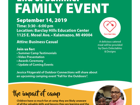 End of the Summer - Family Event