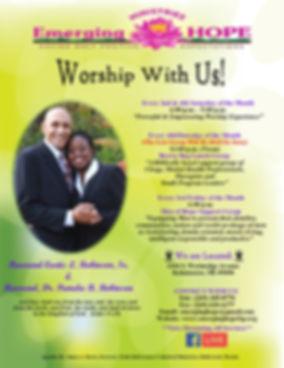 Emerging HOPE Worship Flyer _ Final 2020