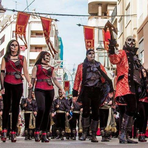 Desfile moros y cristianos Elda