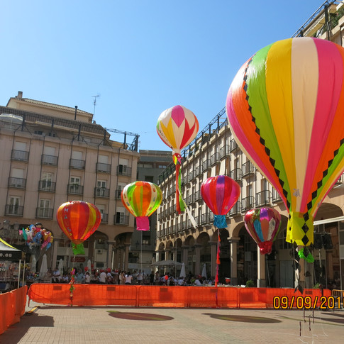 Airballoons in Main Square