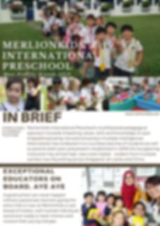 MerlionKids International Preschool Full