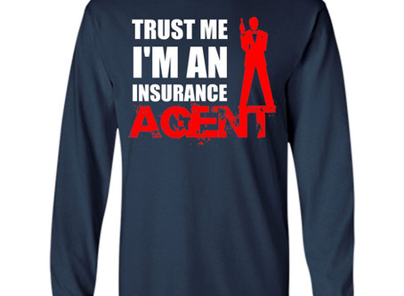 No decent human being should ever work as an insurance agent