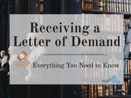 Receiving a Letter of Demand: Everything You Need to Know