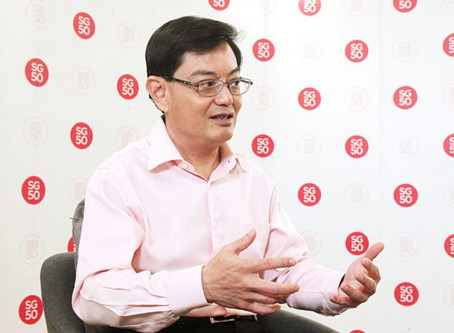 Heng Swee Keat proffered brave but ultimately empty words