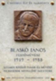 Blasko%CC%81_Ja%CC%81nos_plaque_(Budapes