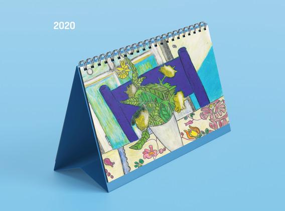 Asztali naptár, 2020