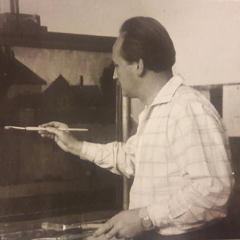 János Blaskó, painter