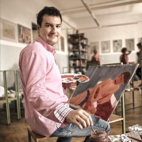 Bence Blaskó, painter