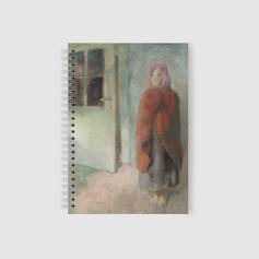 Spirál füzet Szőnyi István festményével
