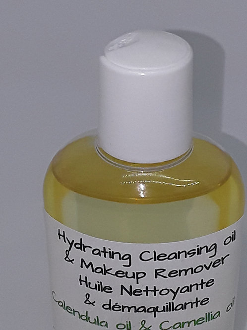 Vegan-Hydrating Cleansing Oil & Make-up Remover