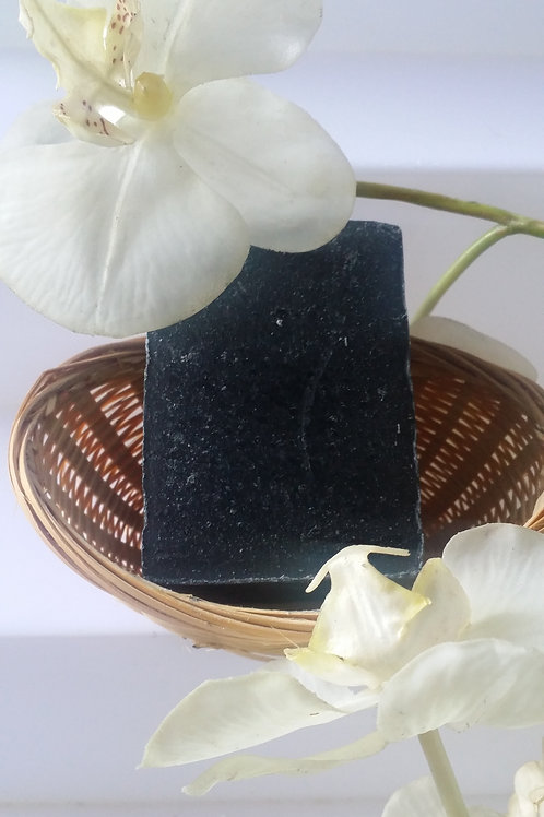 Spa Exfoliating Bar with activated charcoal-clear skin- Unscented