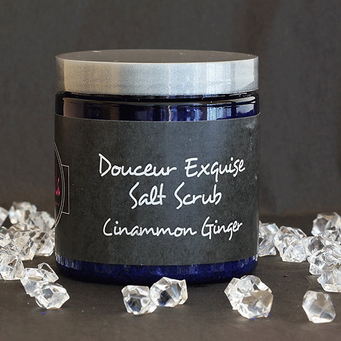 Douceur Exquise Salt Scrub - Cinnamon/Ginger
