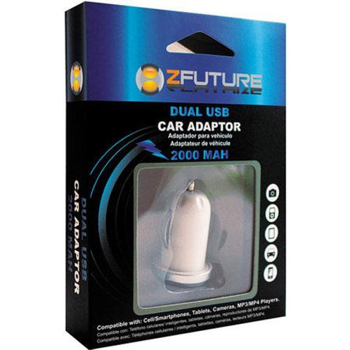 ZFUTURE Dual USB 2AMP Car Charger