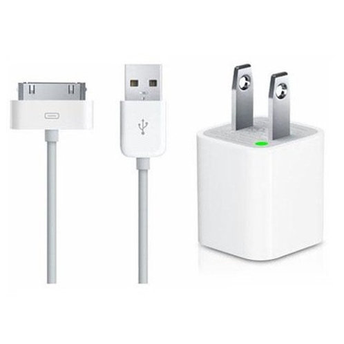 iPhone 4 / 4S After Market Cable + Adapter + Cable 2 in 1