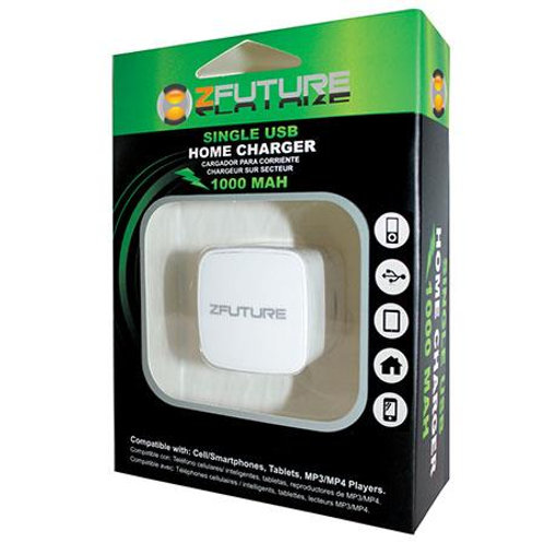ZFUTURE 1A Single USB Home Charger