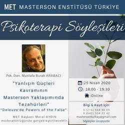Psikoterapi Söyleşileri, Masterson Enstitüsü Türkiye