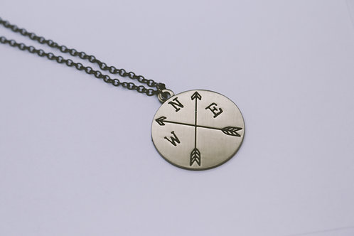 "20"" New Direction Nickel Necklace"
