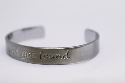 Lost Got Found Nickel Bracelet