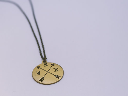 "20"" New Direction Bronze Necklace"
