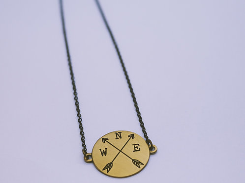 """16"""" New Direction Bronze Necklace"""