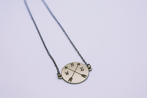 "16"" New Direction Nickel Necklace"