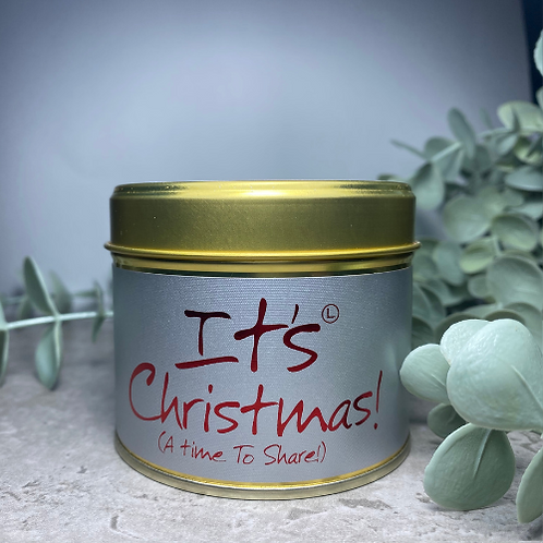 Scented Candle - Its Christmas