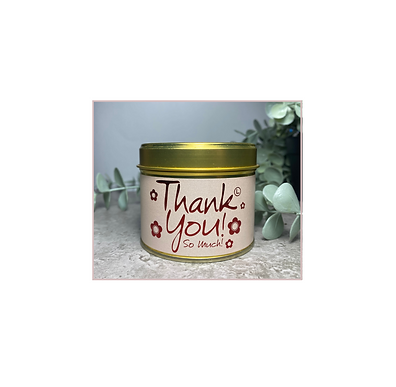 Scented Candle - Thank You