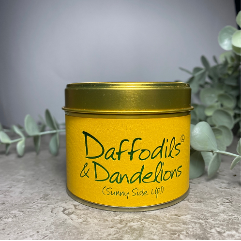 Scented Candle - Daffodils & Dandelions