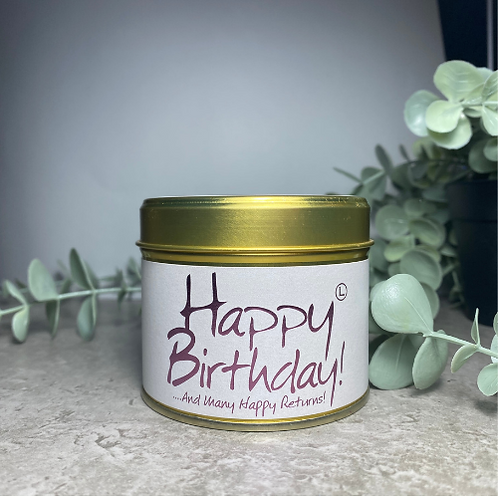 Scented Candle - Happy Birthday