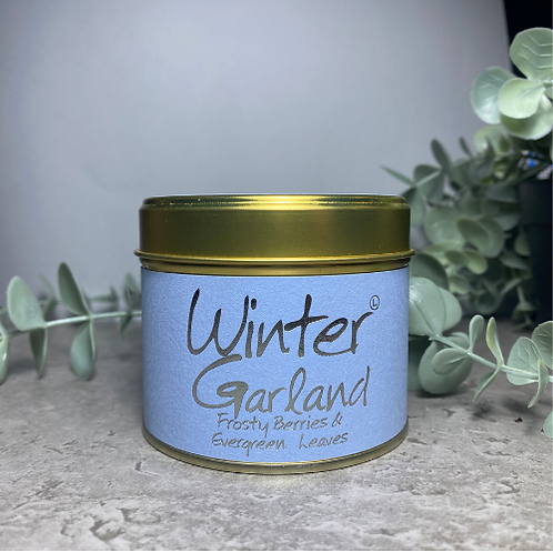 Scented Candle - Winter Garland