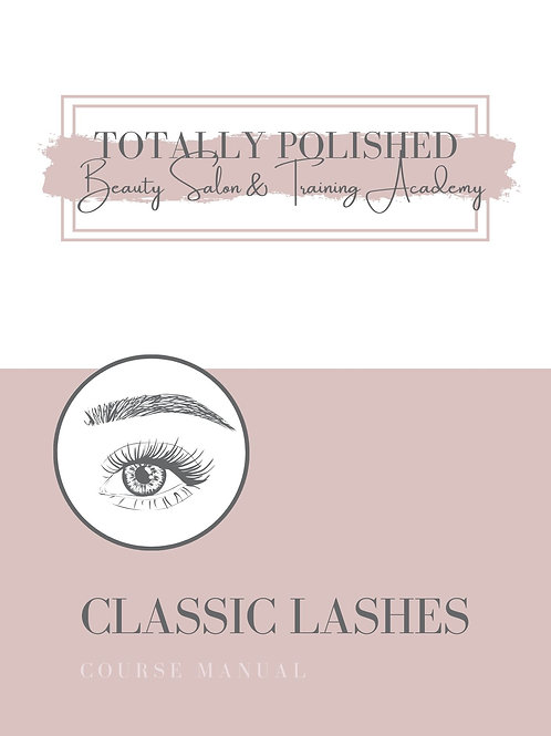 Classic Lash Extensions Accredited Course
