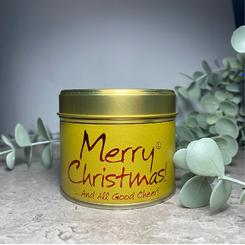 Scented Candle - Merry Christmas